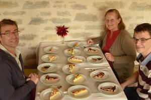 Concours de tartes - hôtel le Morimont