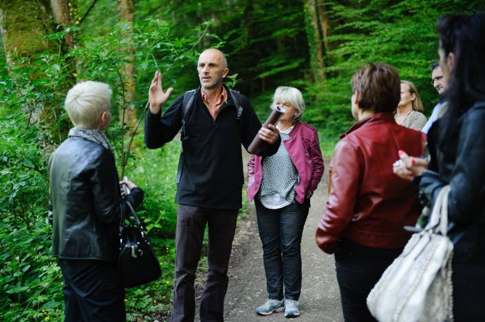 Seminar in Alsace visit castle Morimont