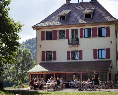 Seminar in Alsace terrace