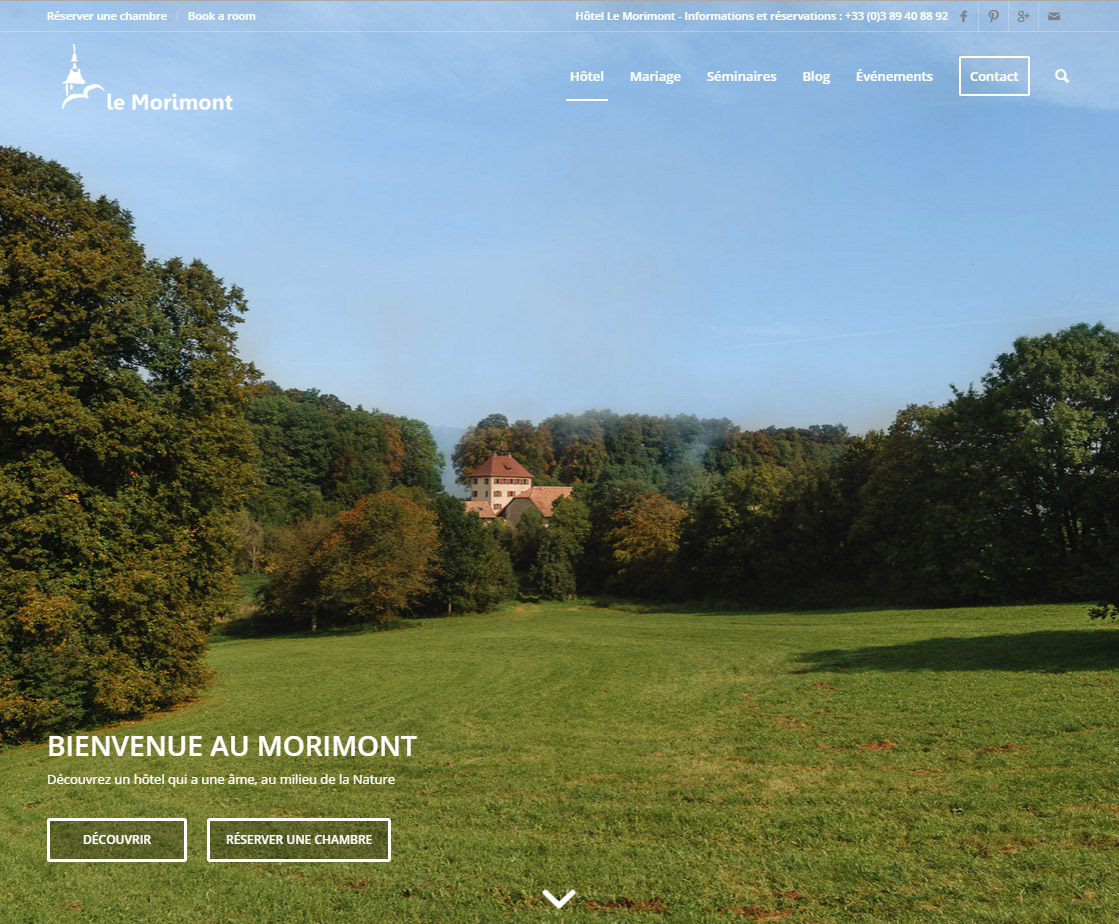 Photographies plein écran, nouveau design : le Morimont s'offre ce qui se fait de mieux !