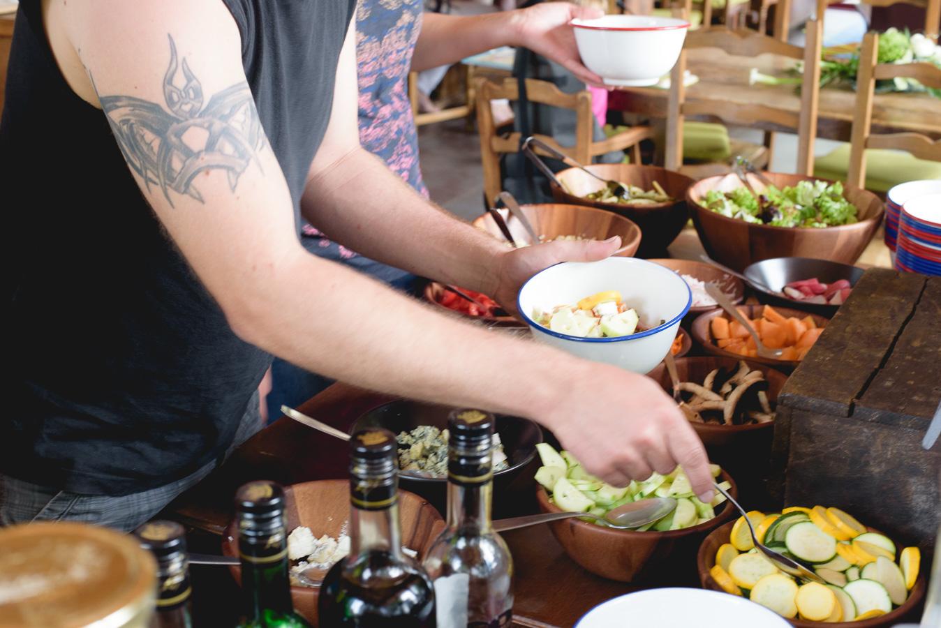 Salades'bar : nouvelle formule de restauration